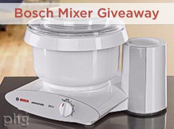 Bosch Mixer Giveaway