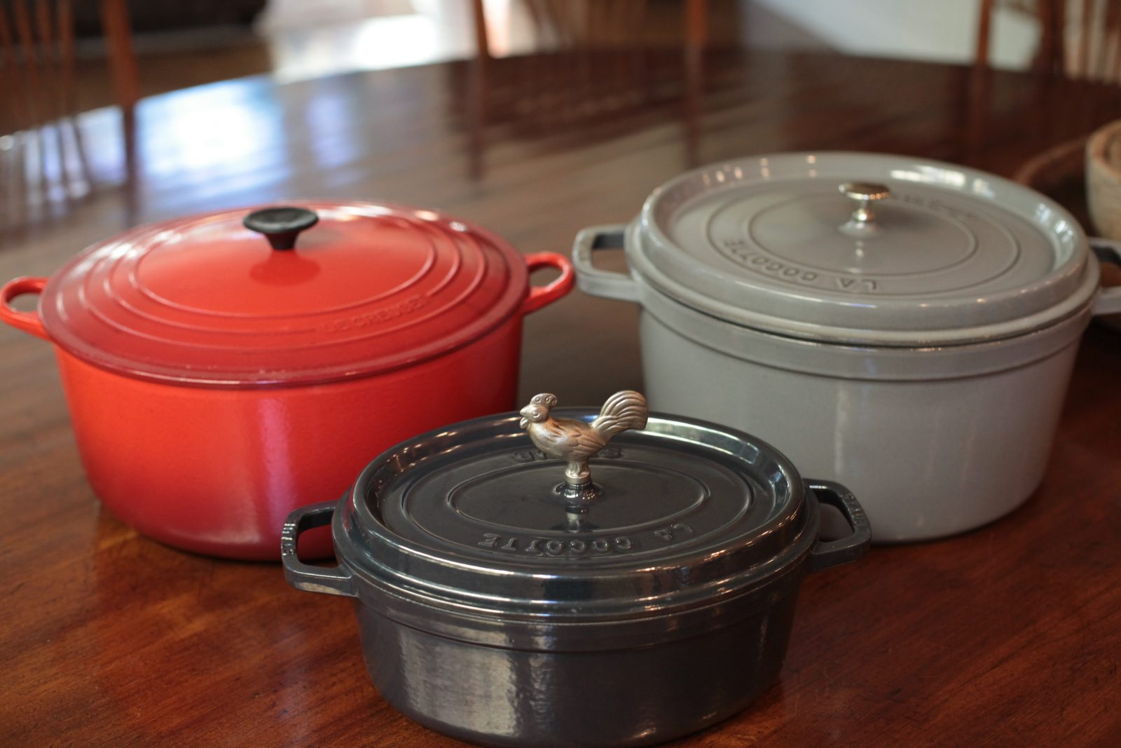 Ing A Cast Iron French Oven Pot Is No Small Investment The Top Brands On Market Are Le Creuset And Staub As You Can See Here I Have Both